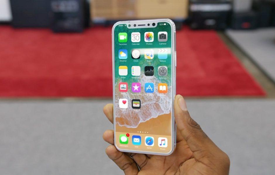 Maketa iPhone 8. Izvor: MKBHD