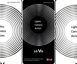 Pozivnica za predstavljanje LG V30