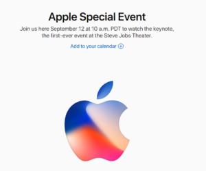 Apple iPhone 2018 pozivnica