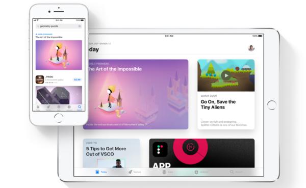 Redizajnirani App Store