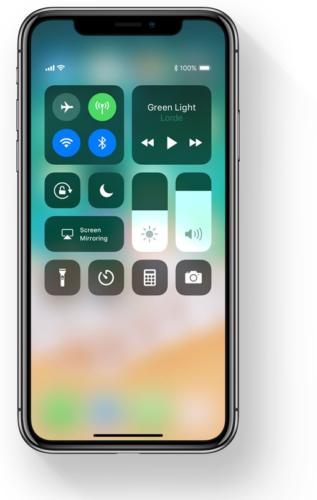 iOS11 Control Center