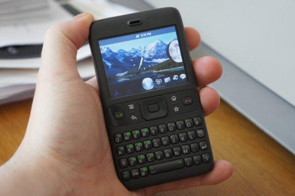 "Prvi Android prototip, Android ""Sooner"""