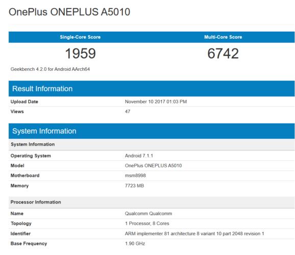 OnePlus 5T biti će malo brži od ostalih modela sa istim procesorom