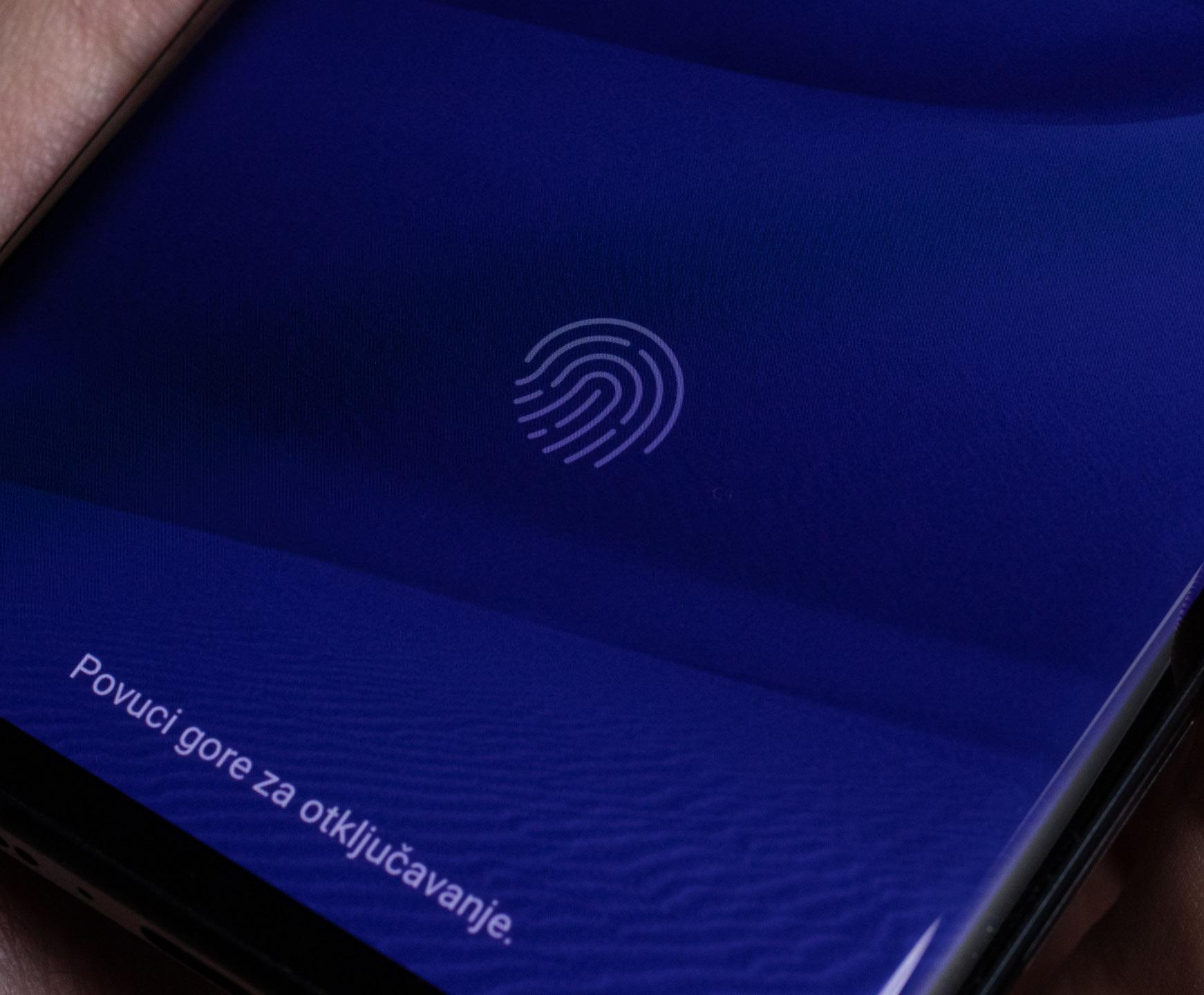 Senzor otiska prsta