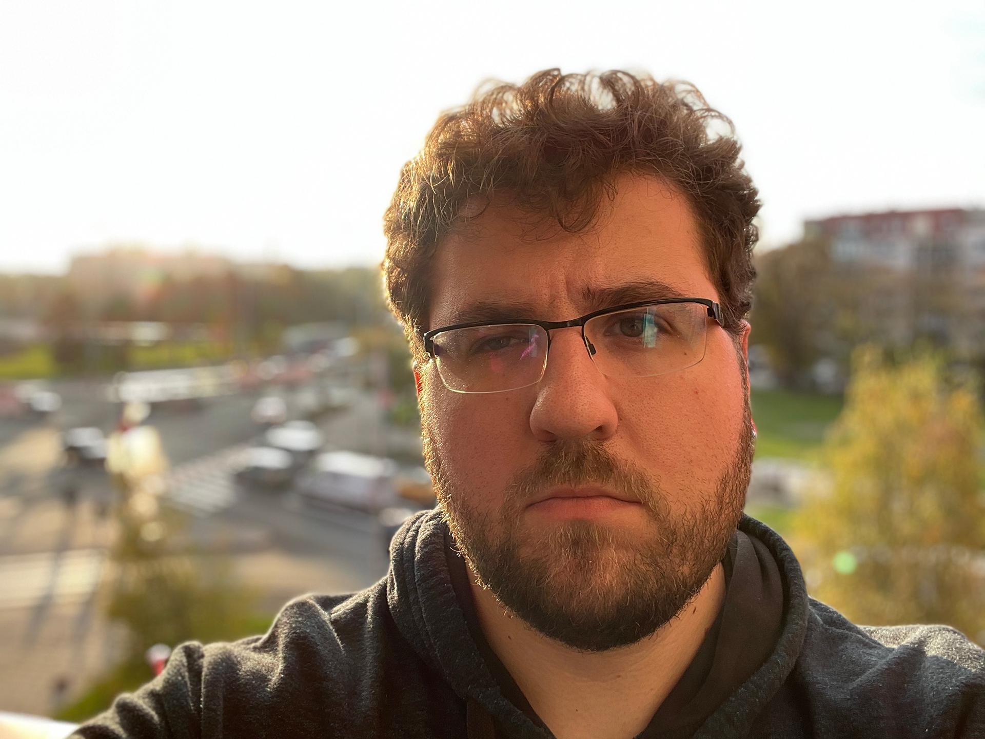 Selfie Portrait mode + HDR